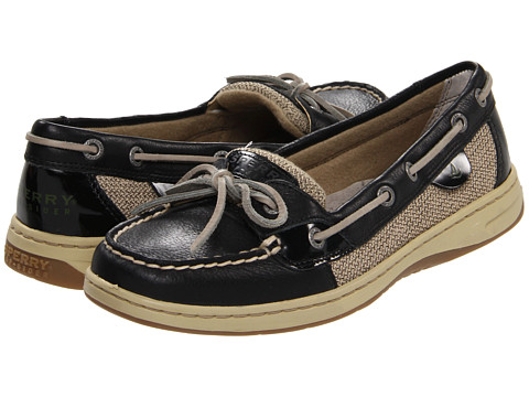 Sperry Top-Sider - Angelfish (Black) Women's Slip on Shoes