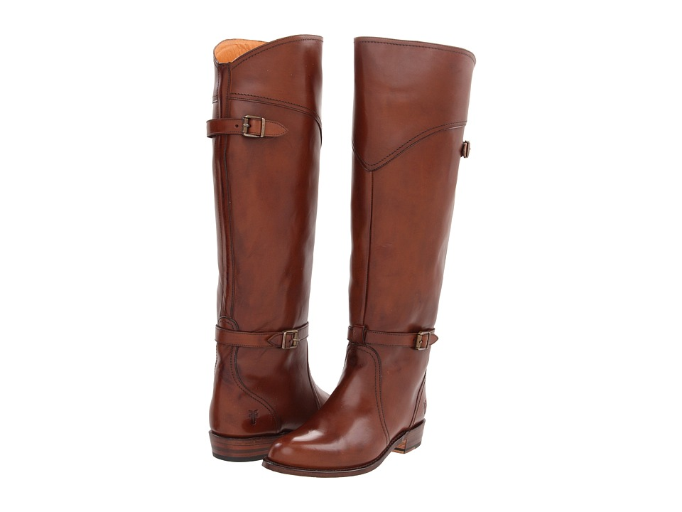Frye - Dorado Riding (Whiskey Smooth Polished Veg) Women's Pull-on Boots
