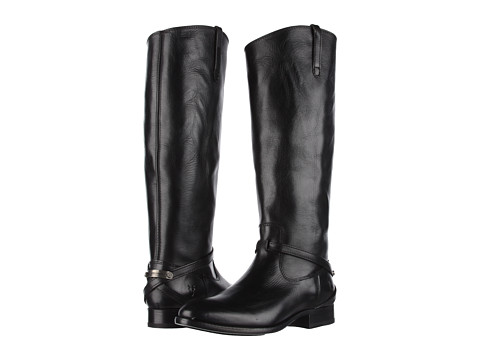 Frye - Lindsay Plate (Black Smooth Full Grain) Women's Pull-on Boots