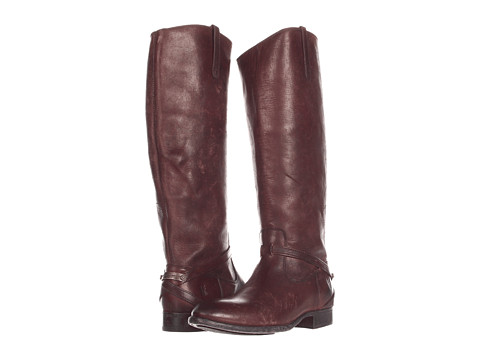 Frye - Lindsay Plate (Dark Brown Stone Wash) Women's Pull-on Boots