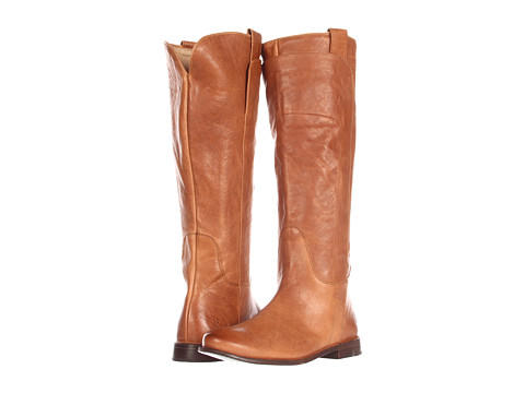 Frye - Paige Tall Riding (Tan Vintage Veg Tan) Women