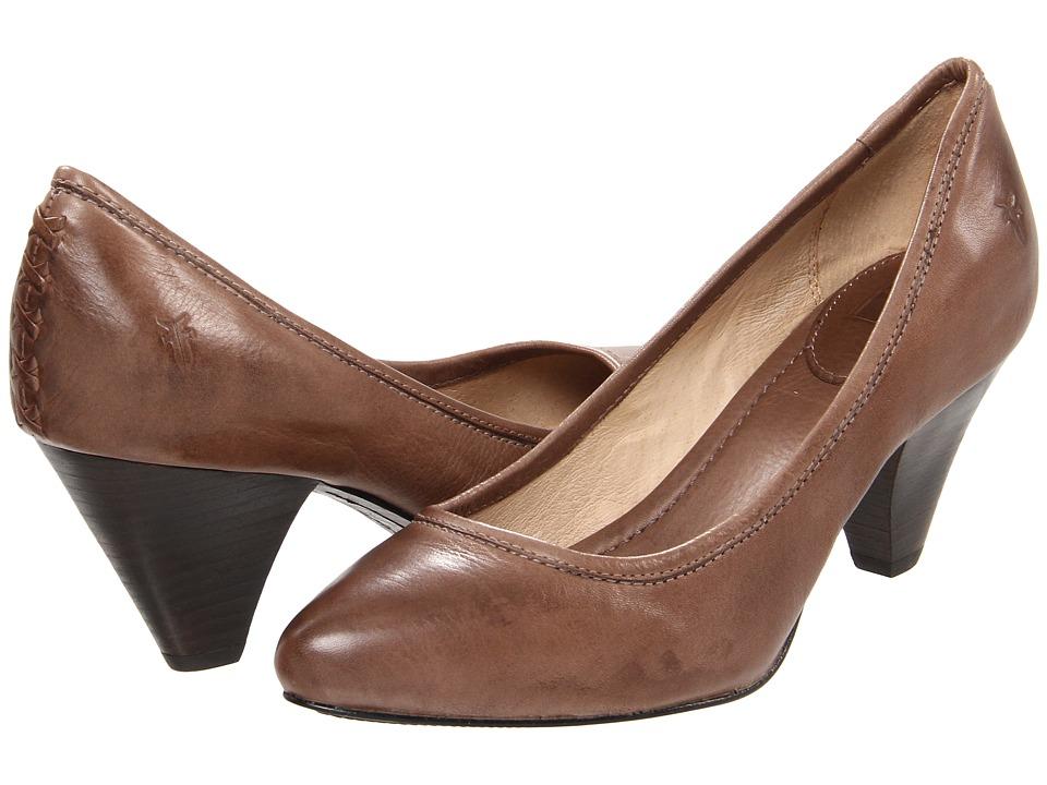 Frye - Regina Pump (Grey Soft Vintage Leather) High Heels