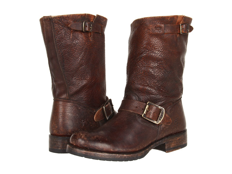 Frye - Veronica Short (Cognac Stone Antiqued) Women's Boots