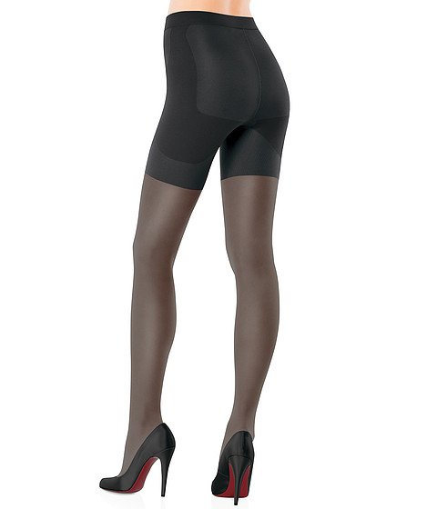Spanx - Bootyfull Sheers (Black) Support Hose