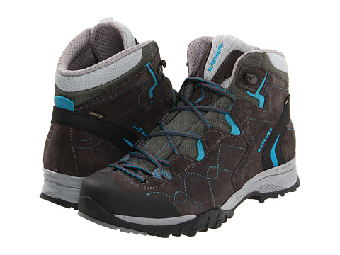 Lowa - Focus GTX QC WS (Anthracite/Turquoise) Women's Shoes