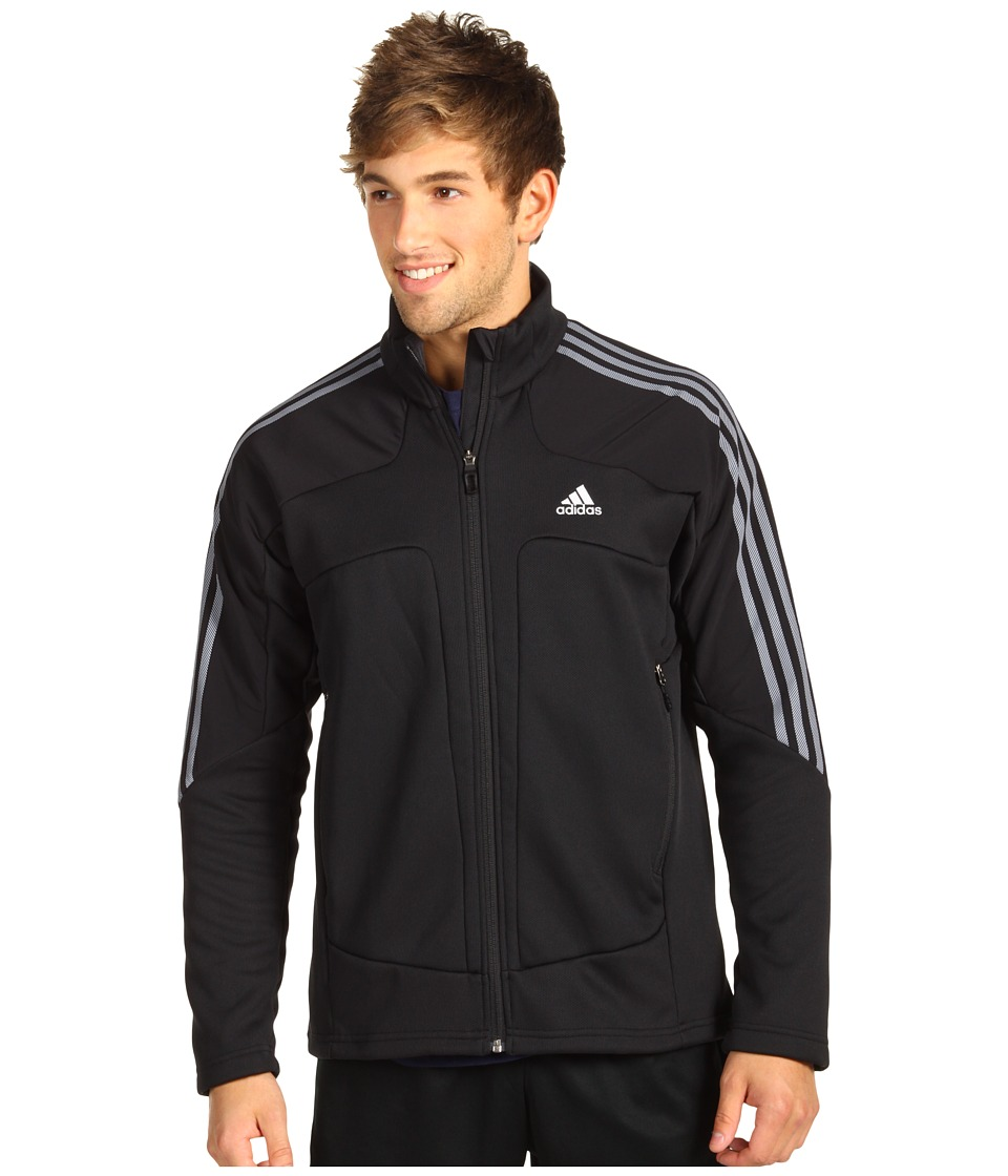 adidas - Terrex Swift Fleece Jacket (Black) Men's Coat