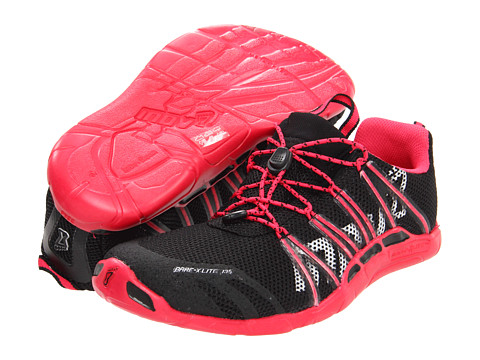 inov-8 - Bare-X Lite 135 (Black/Rose) Women's Running Shoes
