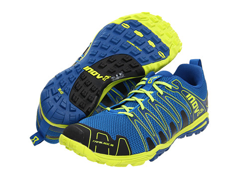 inov-8 - Trailroc 245 (Blue/Lime) Men's Shoes