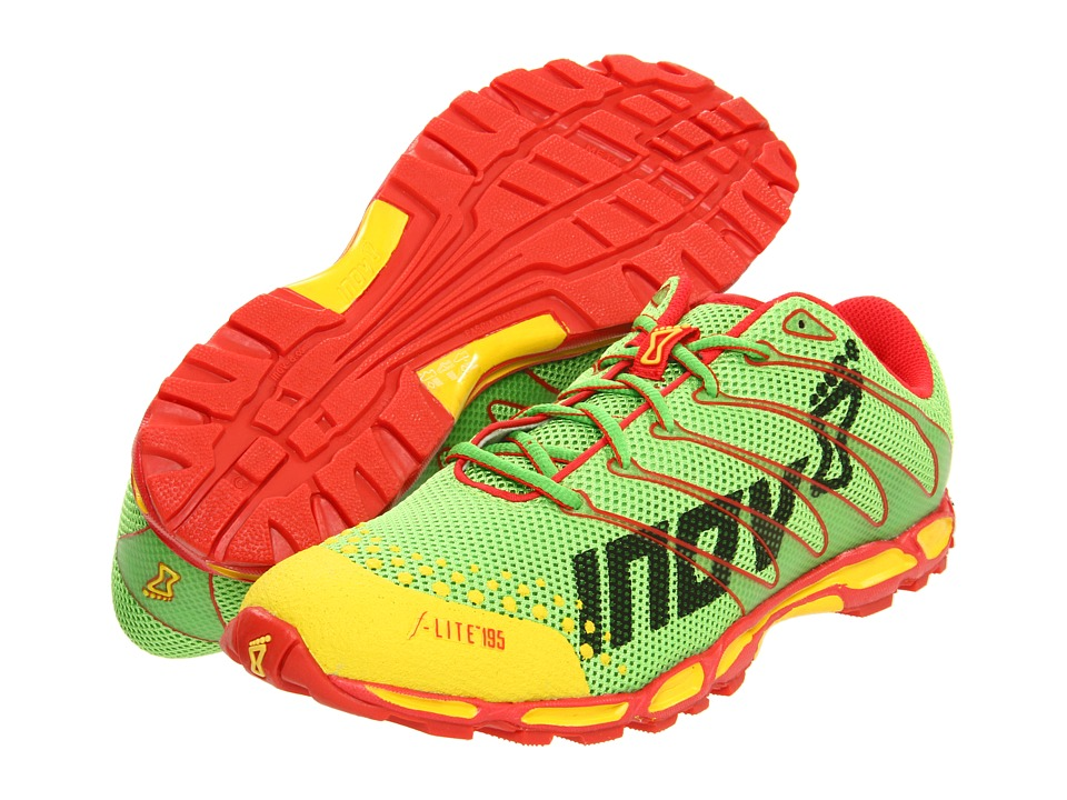 inov-8 - F-Lite 195 (Yellow/Green/Red) Running Shoes