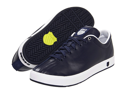 K-Swiss - Clean Classic (Navy/White) Men's Tennis Shoes