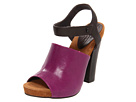 Juicy Couture - Fame (Light Berry Marte Lizard Print / Tmoro Tumbled Calf) - Footwear
