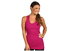 Nike - Tight Traditional Dri-Fit Cotton Rib Tank (Rave Pink/Cool Grey) - Apparel