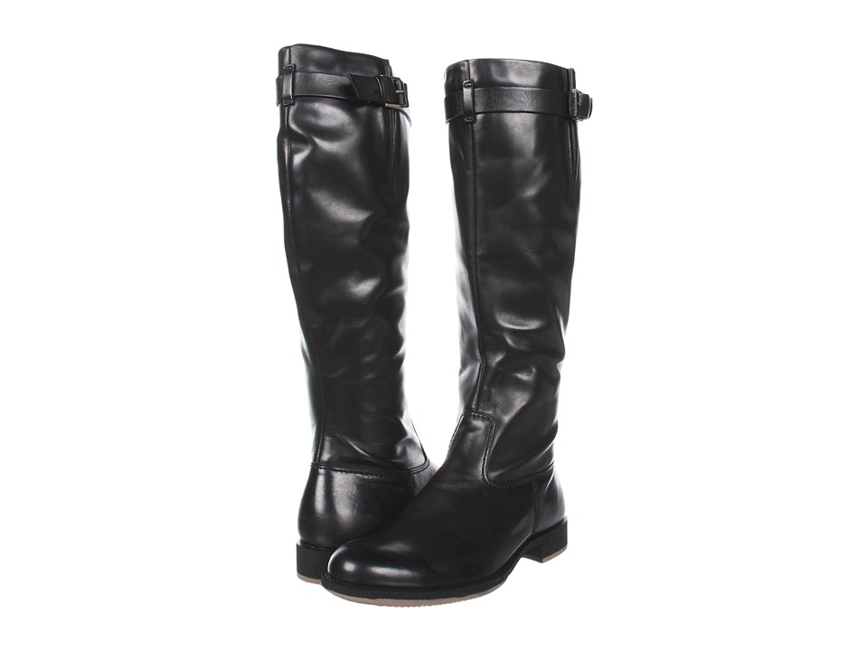 ECCO - Saunter Tall Boot (Black) Women's Pull-on Boots