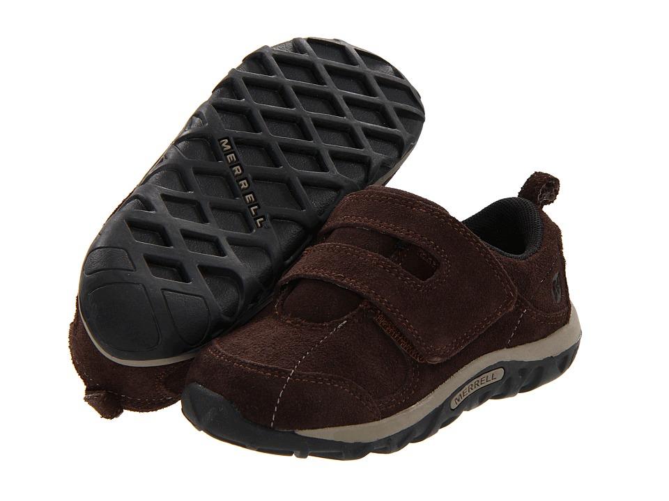 Merrell Kids - Jungle Moc Dual Strap (Toddler) (Espresso) Boys Shoes