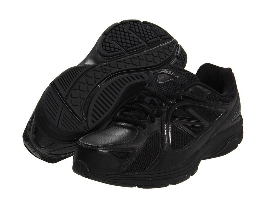 New Balance - MW847 (Black) Men's Walking Shoes