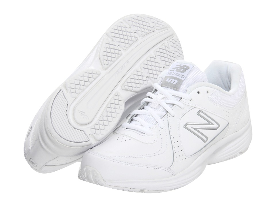 New Balance - WW411 (White) Women's Walking Shoes