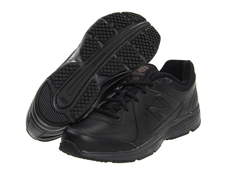 New Balance - WW411 (Black) Women's Walking Shoes