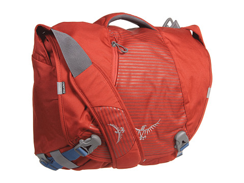 Osprey - FlapJack Courier Pack (Chili Red) Messenger Bags