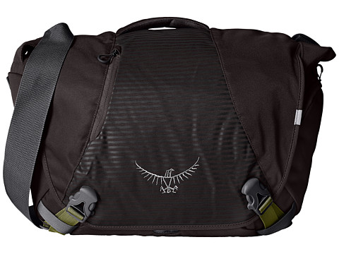 Osprey - FlapJack Courier Pack (Black) Messenger Bags