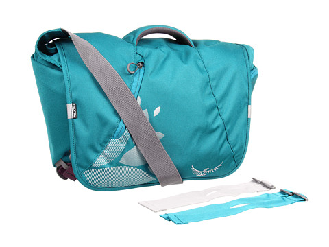 Osprey - FlapJill Courier Pack (Teal Blue) Messenger Bags