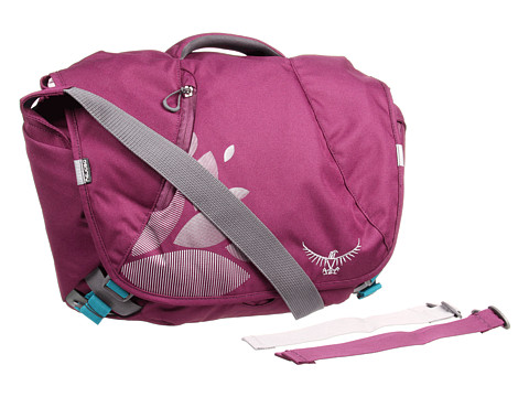 Osprey - FlapJill Courier Pack (Plum Purple) Messenger Bags