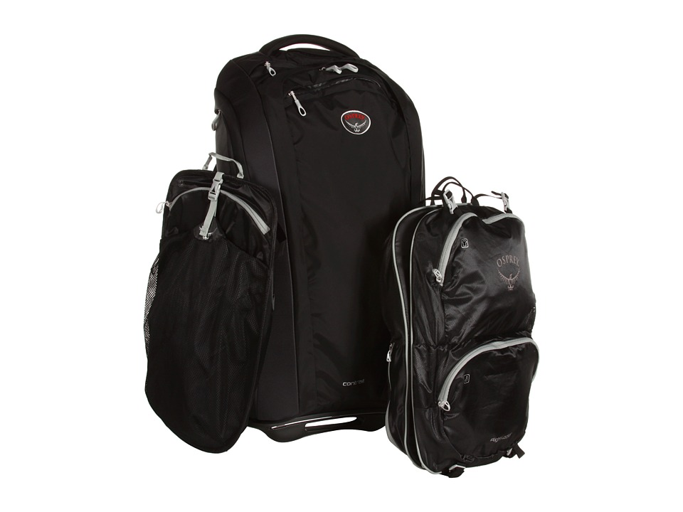 Osprey - Contrail 28/75L (Black) Backpack Bags