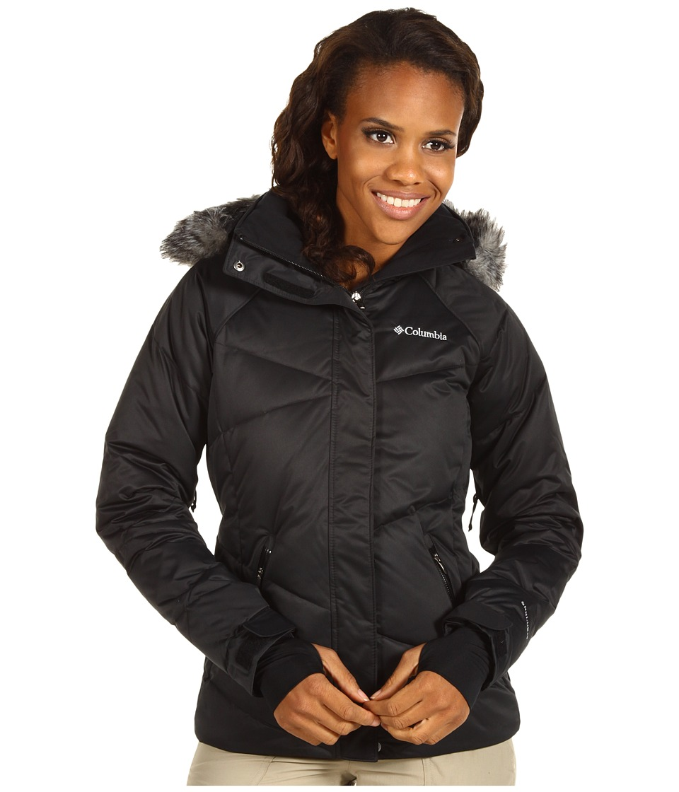 Columbia - Lay 'D' Down Jacket (Black Satin) Women's Coat