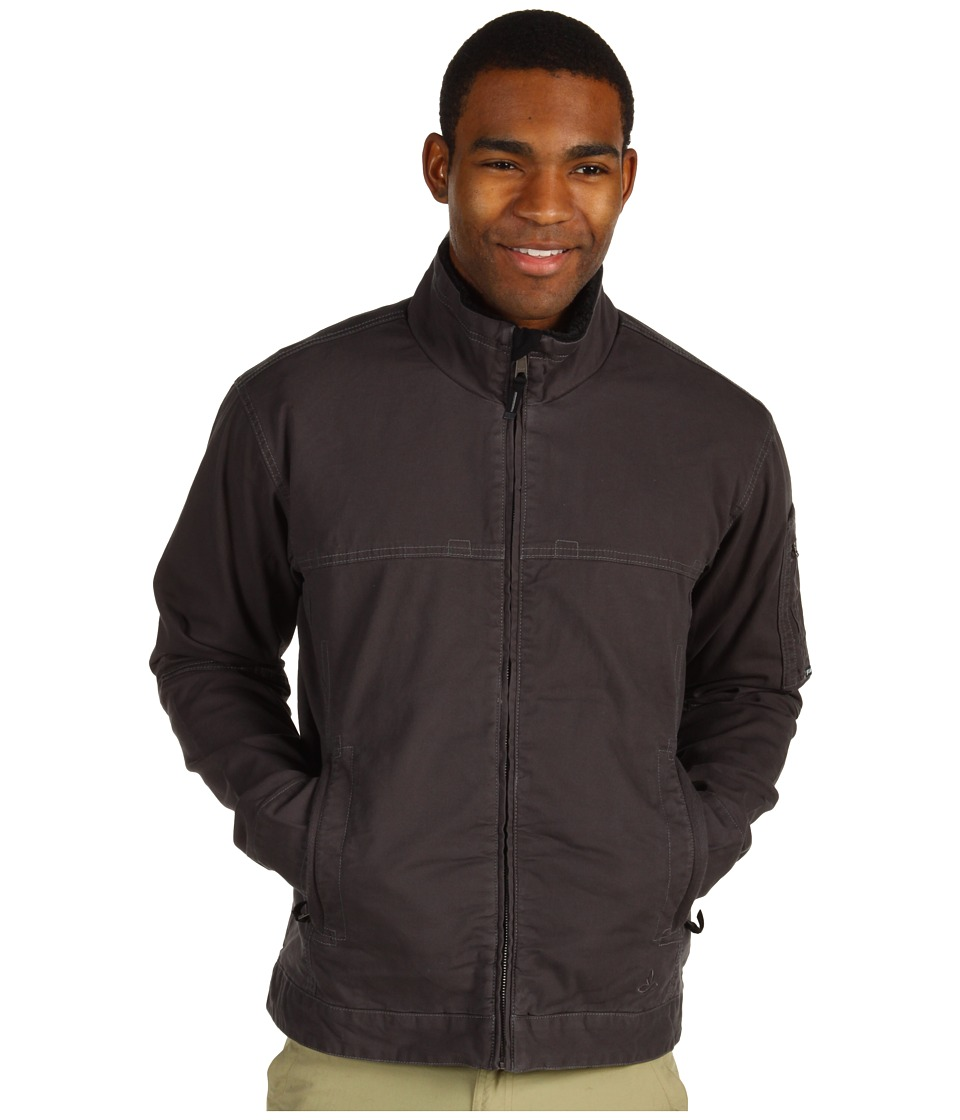 Prana - Bronson Jacket (Charcoal) Men's Coat