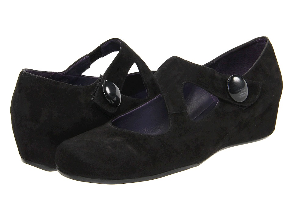 Vaneli - Matro (Black Suede) Women's Wedge Shoes