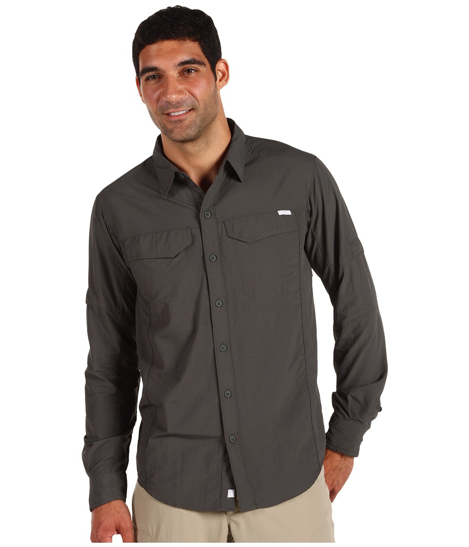 Columbia - Silver Ridge L/S (Gravel) Men's Long Sleeve Button Up