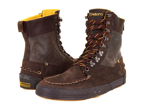 Tretorn - Highlander - Leather (Mahogany) Lace-up Boots