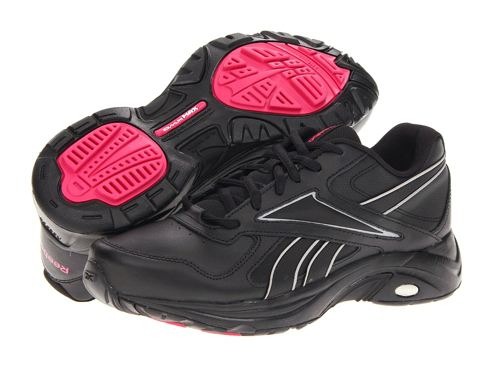 Reebok - DMX Max Mania (Black/Tin Grey/Cosmic Berry) Women's Walking Shoes