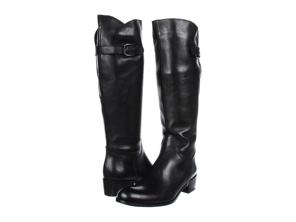 Sesto Meucci - 81207/F (Black New Leather) Women's Boots