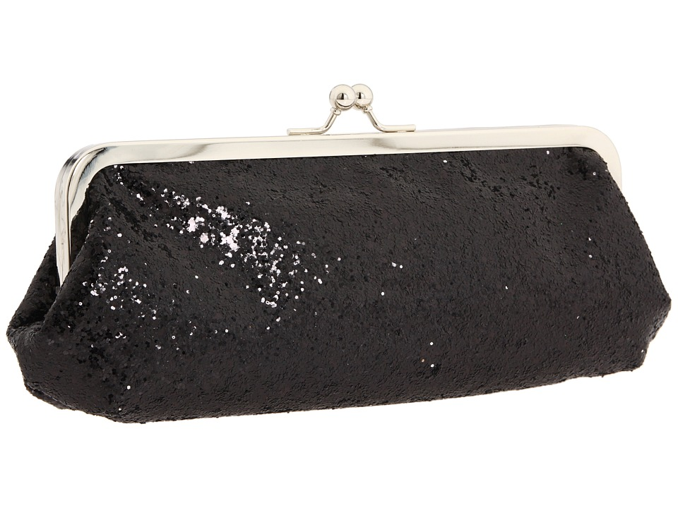 Touch Ups - Farah (Black Glitter) Evening Handbags