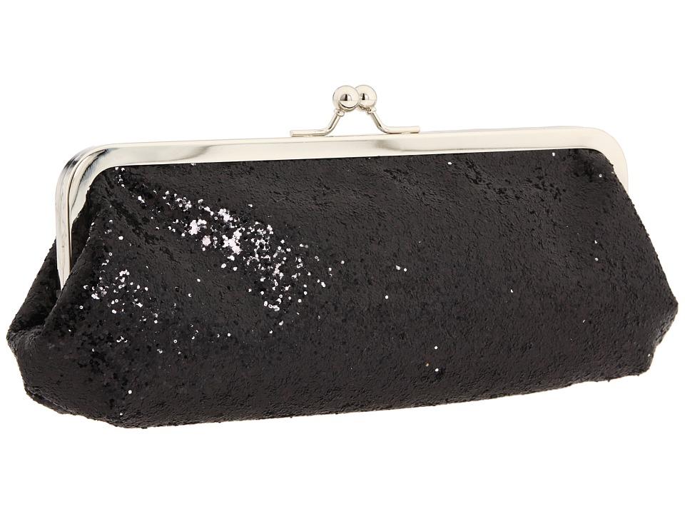 Touch Ups - Farah (Black Glitter) Evening Handbags