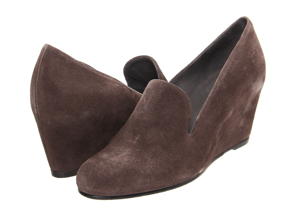 Stuart Weitzman - Arise (Seal Velour) Women's Wedge Shoes