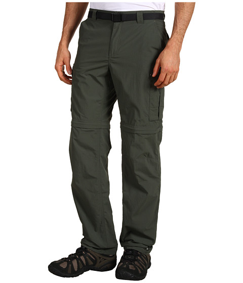 Columbia - Silver Ridge Convertible Pant (Gravel) Men's Clothing