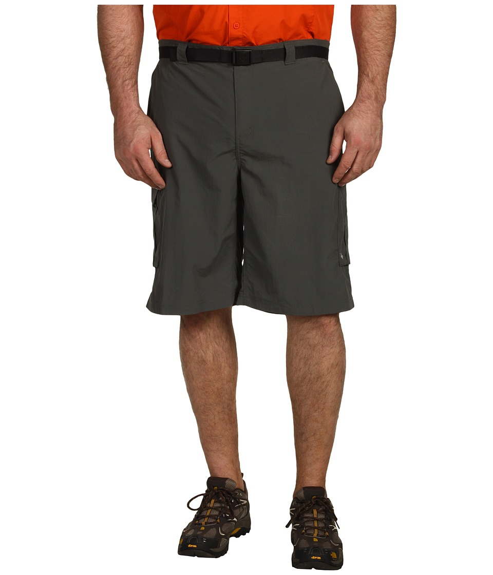 Columbia - Big Tall Silver Ridge Cargo Short (42-54) (Gravel) Men's Shorts