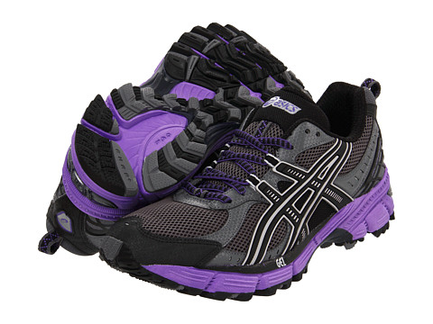 ASICS - GEL-Kahana 6 (Titanium/Black/Electric Purple) Women's Running Shoes