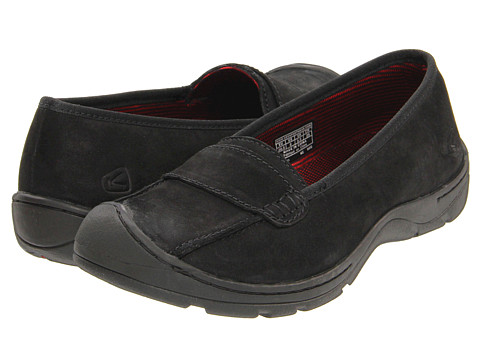 Keen - Sterling City Slip-On (Black) Women's Shoes