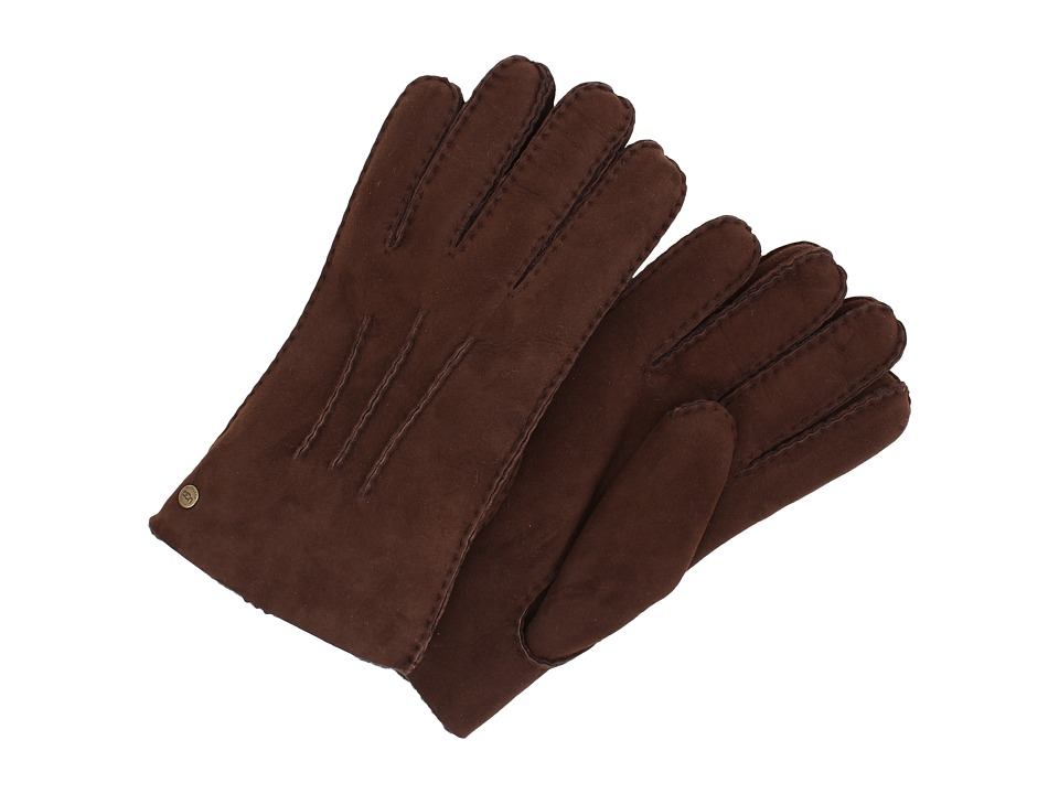 UGG - Glove w/ Gauge Points (Chocolate) Dress Gloves