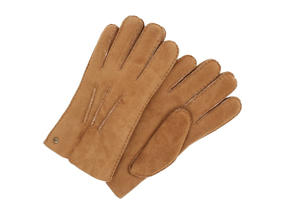 UGG - Glove w/ Gauge Points (Chestnut) Dress Gloves