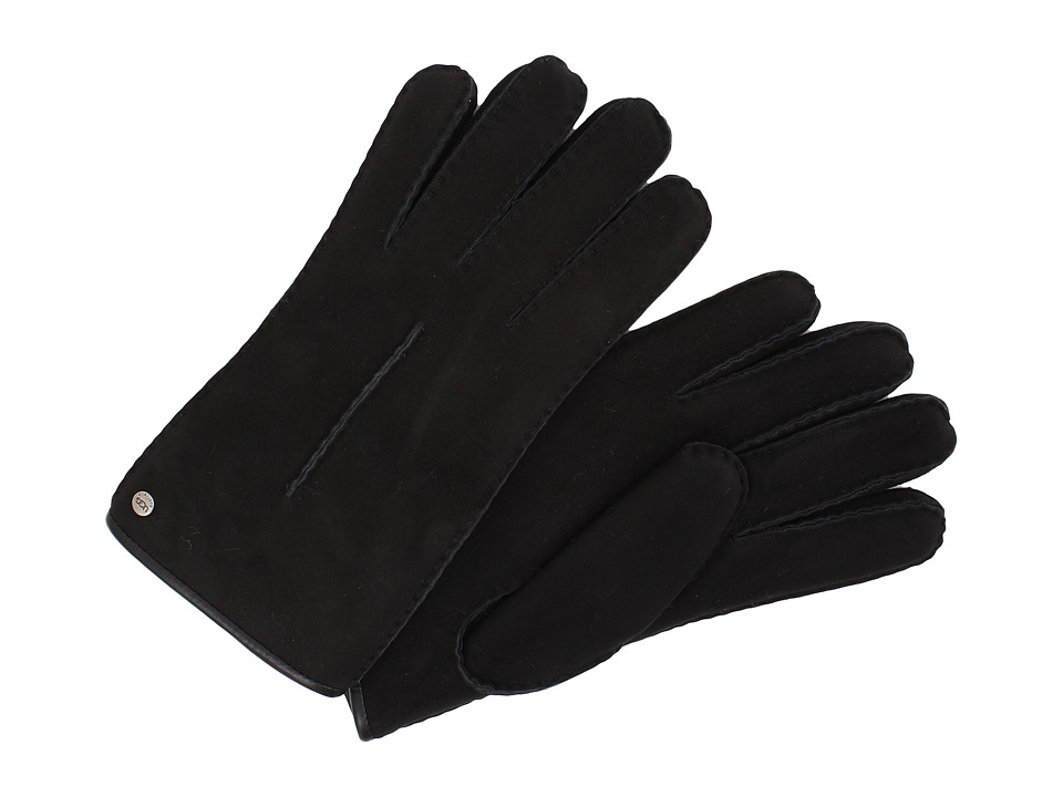 UGG - Single Point Glove w/ Binding (Black) Dress Gloves