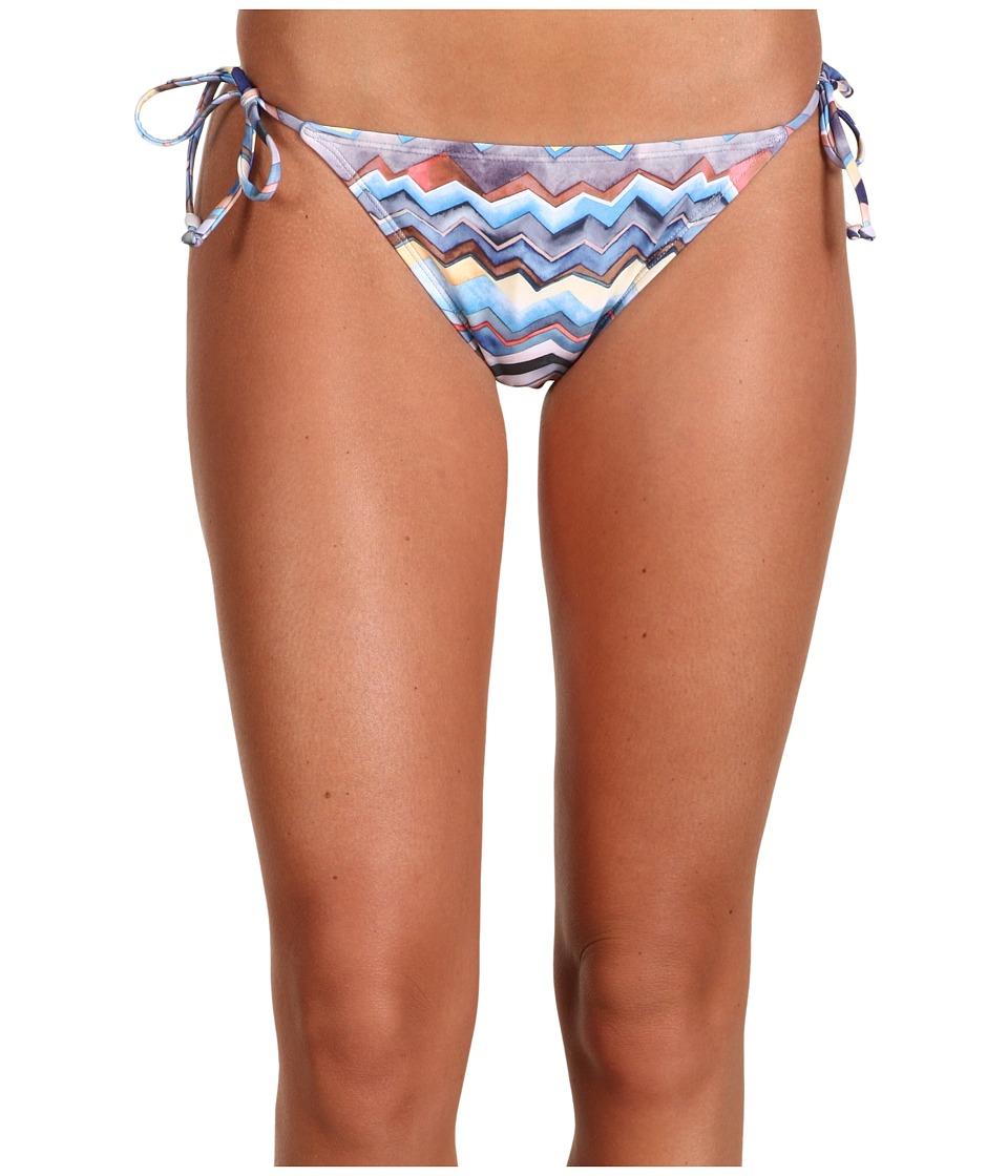 Quiksilver - Zig Zag Classic String Bikini Bottom (Zig Zag) Women's Swimwear