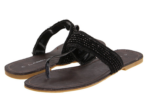 C Label - Telly-4 (Black) Women's Sandals
