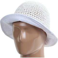 SALE! $14.99 - Save $43 on Echo Design Crochet Beach Hat (White) Hats - 74.16% OFF $58.00