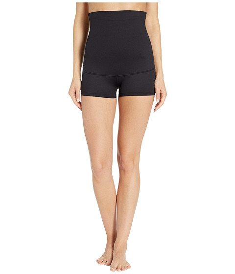 Flexees by Maidenform - Fat Free Dressing#174; High Waist Boyshort (Black) Women