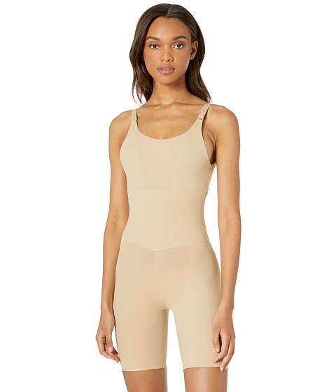 Flexees by Maidenform - Take Inches Off Wear Your Own Bra Singlet (Beige) Women's Pajama