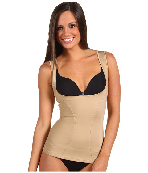 Flexees by Maidenform - Dream Shapewear Wear Your Own Bra Torsette (Beige) Women