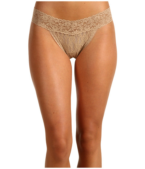 Maidenform - One Size For All Classic Rise Thong (Body Beige) Women